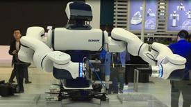 新松双臂协作机器人演示
