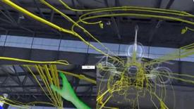 虚拟现实训练:达索公务机维修