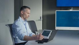 在视频会议中,让照明、空调、百叶窗也智能起来