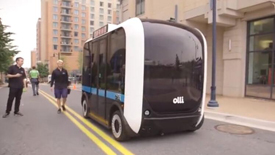 IBM无人驾驶汽车Olli,用人工智能与乘客聊天