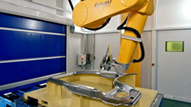史陶比尔机器人三维激光切割应用