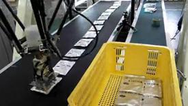 川崎并联机器人搬药包