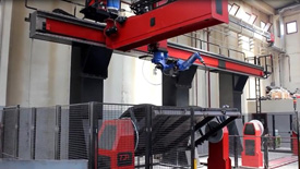 桁架机器人机械手焊接钢板