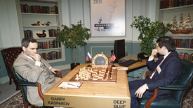 """IBM""""深蓝""""战胜国际象棋冠军卡斯帕罗夫"""