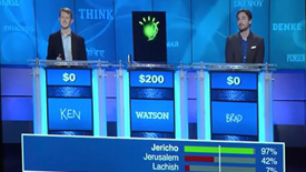 """IBM超级电脑""""沃森""""战胜智力竞赛冠军"""