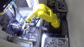 发那科工业机器人换料与辅助加工