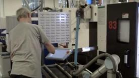 协作机器人机床上下料应用案例——Caso éxito Trelleborg