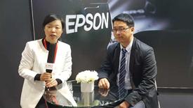 19届工博会:e-works采访爱普生机器人市场与销售部门经理强成