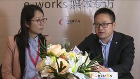 工博会现场——访美名软件高级销售经理陈剑