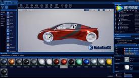 MakeReal3D V3.0功能演示:快速数字样机评审