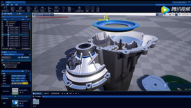 MakeReal3D v3.0功能演示:实时物理仿真