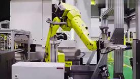 发那科基于MES的机器人智能制造方案演示