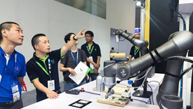 """工博会专访:达明机器人""""看见""""机械手臂的未来"""
