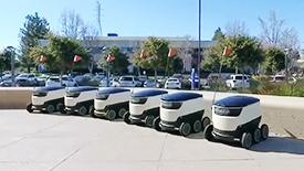 六大自动驾驶(自主)机器人