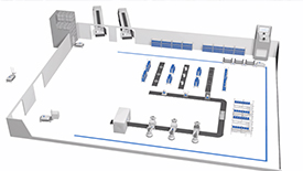 瑞士紧固件巨头Bossard打造的智能工厂物流