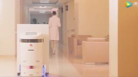 """赛特送药机器人——解放护士的""""利器"""""""
