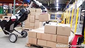 波士顿动力仓库搬运机器人