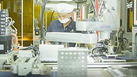 正泰新能源光伏组件智能工厂